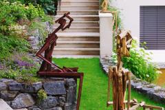 Umenie dokáže pozdvihnúť záhradu do krásy, dotvoriť štýl a dodať jedinečnosť