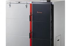 Dakon DOR 5N Automat s automatickým doplňovaním paliva je určený na spaľovanie hnedého uhlia a drevených peliet a spĺňa prísne podmienky