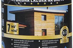 Hybridná lazúra na drevo HORNBACH poskytne dlhodobú ochranu dreveného povrchu proti vplyvom počasia a UV žiareniu. Eliminuje riziko nežiaduceho zlepovania, nesteká ani nefŕka, hodí sa aj na detské herné prvky; výdatnosť pri jednom nátere 15 m2/l (HORNBACH)