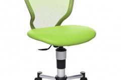 Stolička Titan Junior, nosnosť 60 kg, vysoké, anatomicky tvarované operadlo na kvalitnú oporu chrbta, nastaviteľná výška, kovové nohy, v šiestich farbách, cena 168 eur, www.gazel.sk