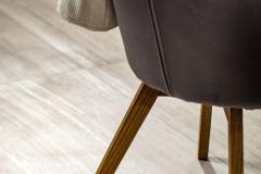 Keramická dlažba Alba dokonale imituje krásu prírodného travertínu. Formáty 30 x 60, 60 x 60 a 60 x 120 cm, cena od 18,96 € / m²