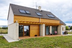 Mladá rodina si splnila sen a nechala si postaviť rodinný dom podľa projektu spoločnosti G Servis CZ