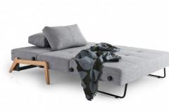 Rozkladacie kreslo Cubed, výplň penový matrac, poťah 100% polyester (Innovation)