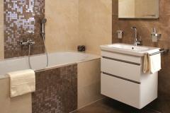 Väčšina kúpeľní sa dispozične aj vybavením premenila z kedysi rýdzo prevádzkovej miestnosti v modernú oázu hygieny a relaxácie (Kúpeľne Ptáček)