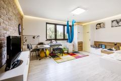 Detské izby poskytujú deťom dostatok priestoru na hranie aj plnenie povinností