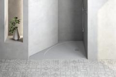 Firma Hidrobox dodáva vaničky Select s hrúbkou 30 mm z kompozitného materiálu na báze živice, ktoré možno upraviť do úplne atypických tvarov (HIDROBOX)