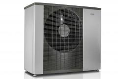 Tepelné čerpadlo NIBE F2120 s vnútorným modulom NIBE VVM 310 tvorí kompletný systém na efektívne vykurovanie a ohrev teplej vody, ktorý je možné ďalej rozšíriť o ohrev bazénu, chladenie a zmiešavané okruhy a podobne (NIBE)