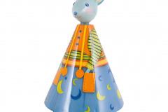 Ručne zdobená lampička vytvorí príjemnú atmosféru. Žiarovka je chránená pred dotykom dieťaťa. Cena 91,51 eur www.babymall.sk