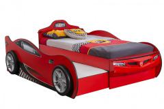 Detská posteľ Coupe značky Čilek sa predáva vrátane roštu s možnosťou vysúvacej prístelky, kostra MDF doska, tvarované časti z termoplastu, celkový rozmer 107 x 83 x 210 cm, lôžko 90 x 180/190 cm, cena od 369 eur, www.hezkydetskynabytok.sk