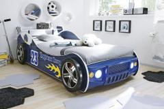 Detská posteľ Energy sa predáva bez roštu a matraca, ale vrátane osvetlenia. Rozmery 108 x 69 x 220 cm, cena 299,90 eur, www.kika.sk