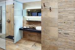 """Bezbariérový sprchovací kút """"walk- in"""" vítajú milovníci minimalistického a čistého dizajnu i staršie či imobilné osoby"""