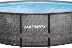 Z hľadiska inštalácie je najjednoduchší nadzemný bazén. Po skončení sezóny ho treba vyčistiť, vypustiť a uskladniť na suché, nemrznúce miesto (HORNBACH)