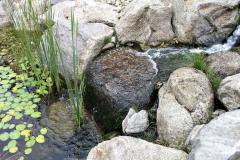 Tečúca voda vnáša do záhrady dynamiku