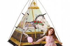 Voľba motívu odráža fantáziu detí. záhradné prvky nakupujte a dotvárajte spoločne
