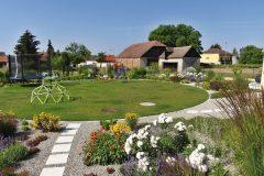 Celkový pohľad jasne ukazuje, pre koho je záhrada primárne určená