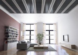 Kúriť z dlážky alebo stropu?