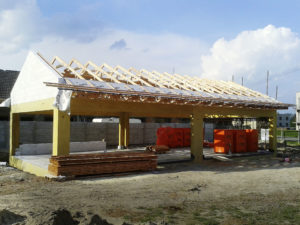 Zastrešenie montovaných domov