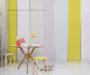 Rozžiarte interiér farbami
