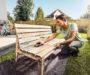 Ako obnoviť drevený záhradný nábytok