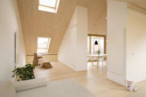 Podkrovie a strešné okná: Svetelný komfort na poschodí